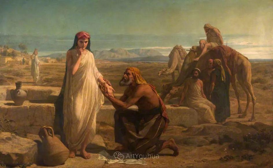 英国艺术家:弗雷德里克·古道尔 (1822-1904)插图27