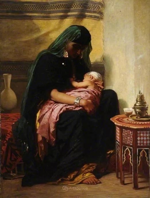英国艺术家:弗雷德里克·古道尔 (1822-1904)插图30