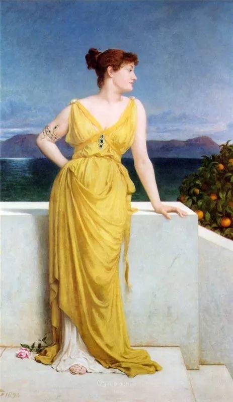 英国艺术家:弗雷德里克·古道尔 (1822-1904)插图32