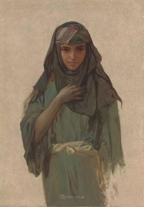 英国艺术家:弗雷德里克·古道尔 (1822-1904)插图33