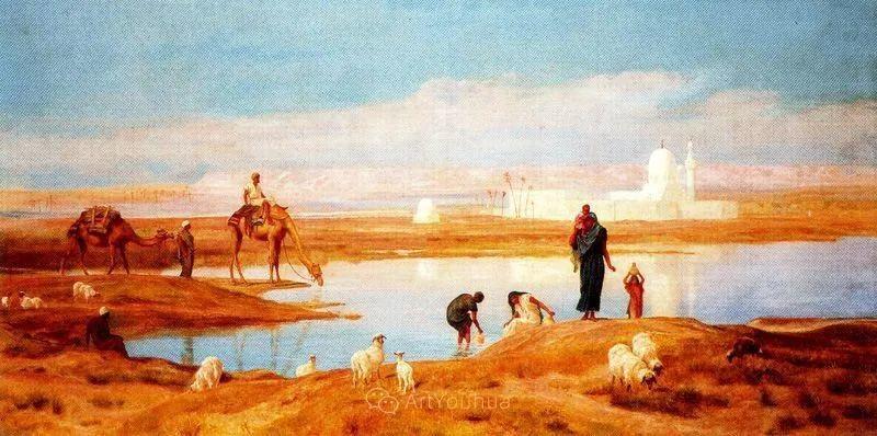 英国艺术家:弗雷德里克·古道尔 (1822-1904)插图34