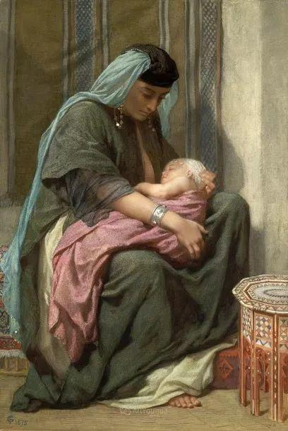 英国艺术家:弗雷德里克·古道尔 (1822-1904)插图35