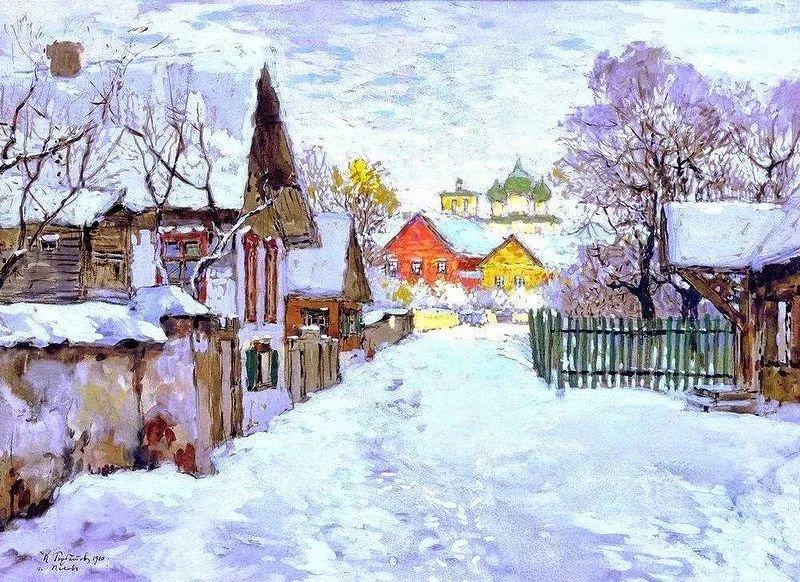 色彩斑斓的浪漫与幻想,充满诗意之美,俄罗斯艺术家戈尔巴托夫插图1