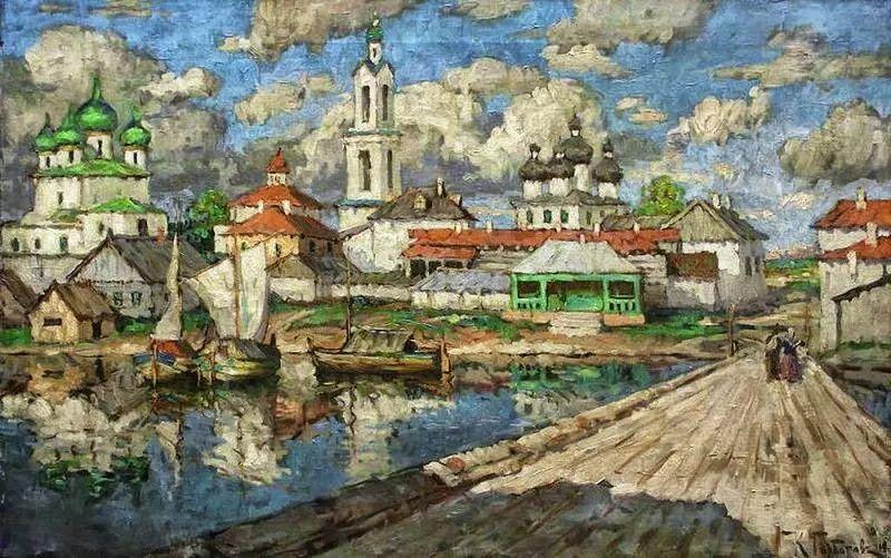 色彩斑斓的浪漫与幻想,充满诗意之美,俄罗斯艺术家戈尔巴托夫插图7