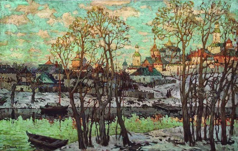 色彩斑斓的浪漫与幻想,充满诗意之美,俄罗斯艺术家戈尔巴托夫插图9