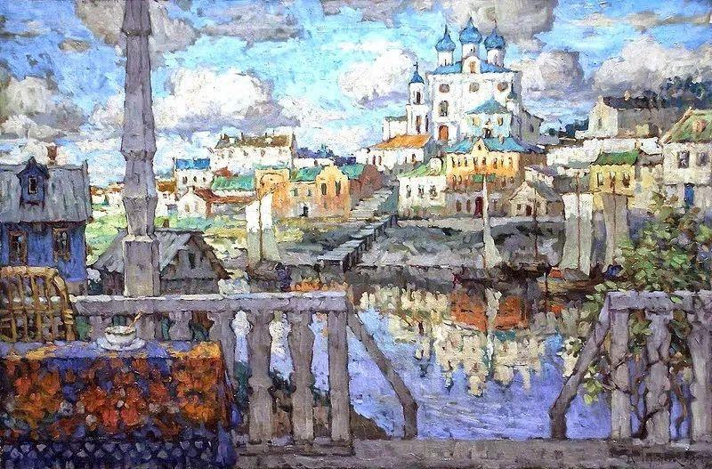 色彩斑斓的浪漫与幻想,充满诗意之美,俄罗斯艺术家戈尔巴托夫插图11
