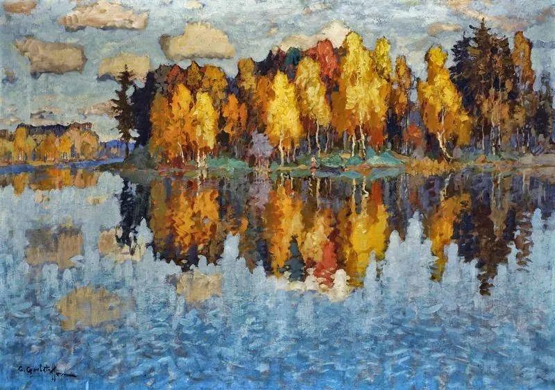 色彩斑斓的浪漫与幻想,充满诗意之美,俄罗斯艺术家戈尔巴托夫插图17