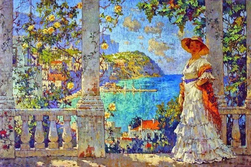 色彩斑斓的浪漫与幻想,充满诗意之美,俄罗斯艺术家戈尔巴托夫插图19