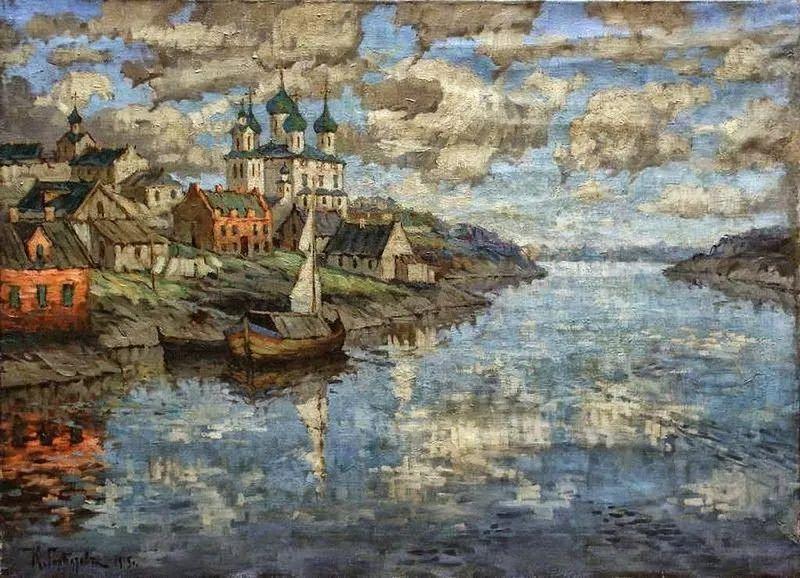 色彩斑斓的浪漫与幻想,充满诗意之美,俄罗斯艺术家戈尔巴托夫插图27