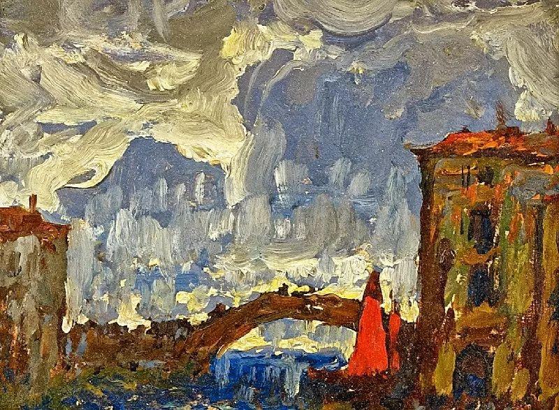 色彩斑斓的浪漫与幻想,充满诗意之美,俄罗斯艺术家戈尔巴托夫插图31