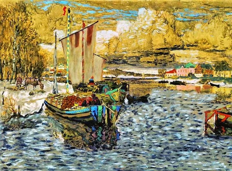 色彩斑斓的浪漫与幻想,充满诗意之美,俄罗斯艺术家戈尔巴托夫插图33