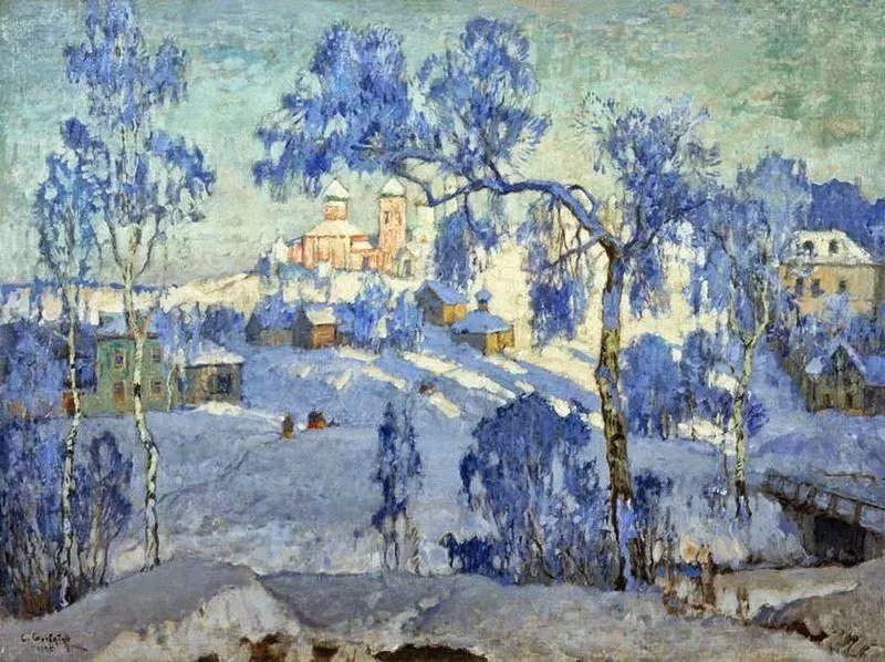 色彩斑斓的浪漫与幻想,充满诗意之美,俄罗斯艺术家戈尔巴托夫插图35