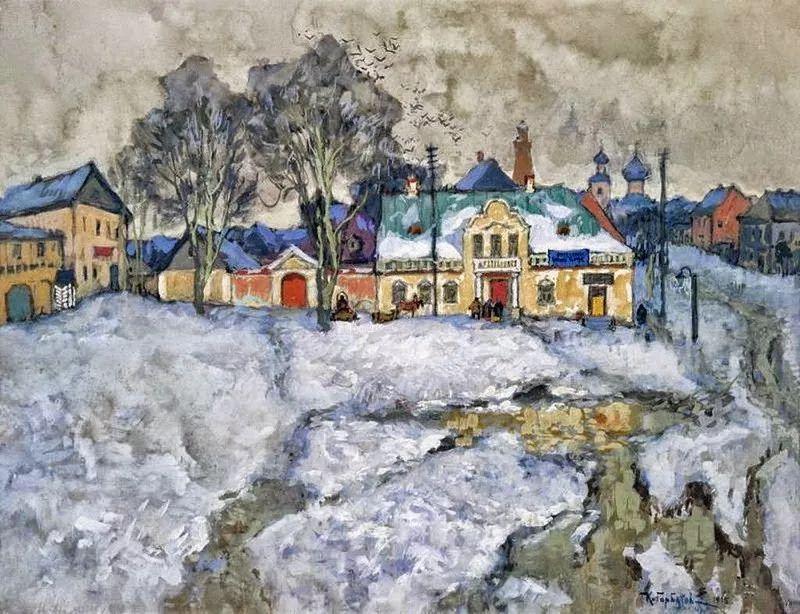 色彩斑斓的浪漫与幻想,充满诗意之美,俄罗斯艺术家戈尔巴托夫插图43