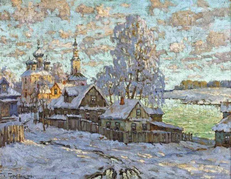 色彩斑斓的浪漫与幻想,充满诗意之美,俄罗斯艺术家戈尔巴托夫插图45