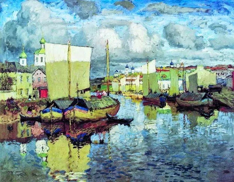 色彩斑斓的浪漫与幻想,充满诗意之美,俄罗斯艺术家戈尔巴托夫插图49