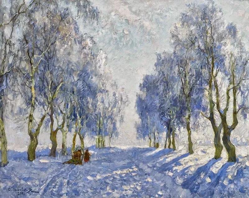 色彩斑斓的浪漫与幻想,充满诗意之美,俄罗斯艺术家戈尔巴托夫插图55
