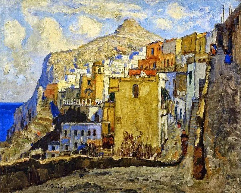 色彩斑斓的浪漫与幻想,充满诗意之美,俄罗斯艺术家戈尔巴托夫插图57