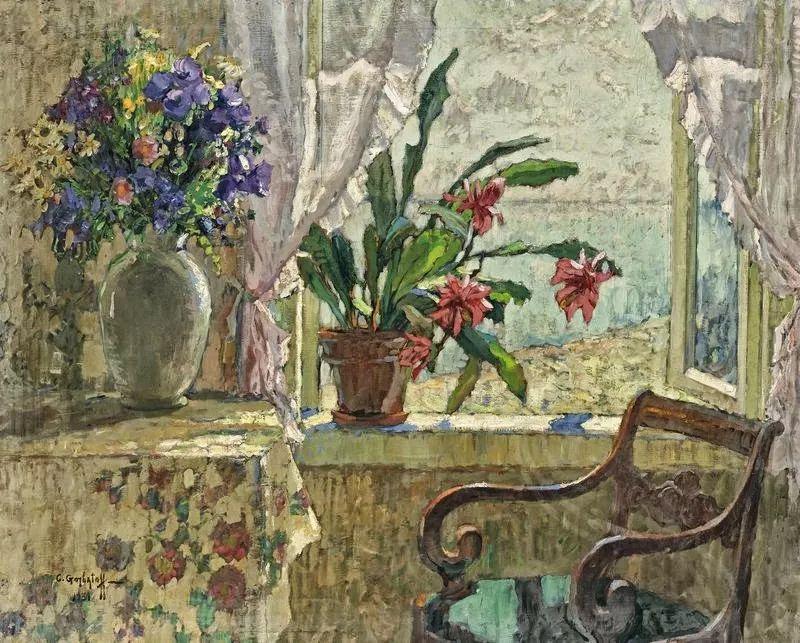 色彩斑斓的浪漫与幻想,充满诗意之美,俄罗斯艺术家戈尔巴托夫插图59