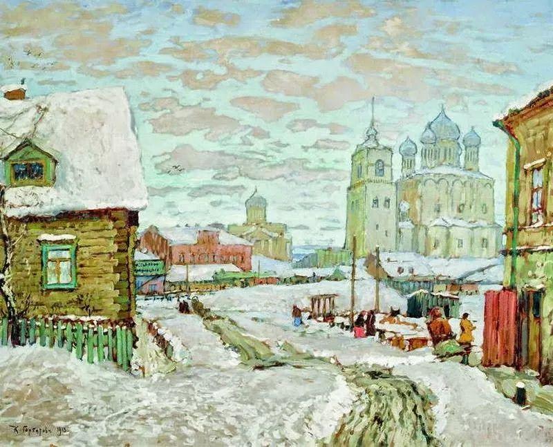 色彩斑斓的浪漫与幻想,充满诗意之美,俄罗斯艺术家戈尔巴托夫插图61