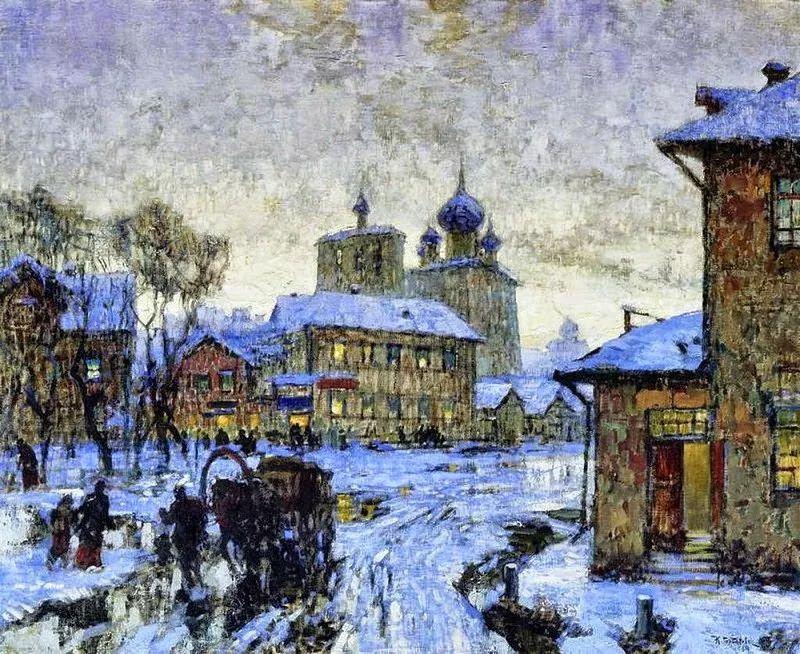 色彩斑斓的浪漫与幻想,充满诗意之美,俄罗斯艺术家戈尔巴托夫插图65