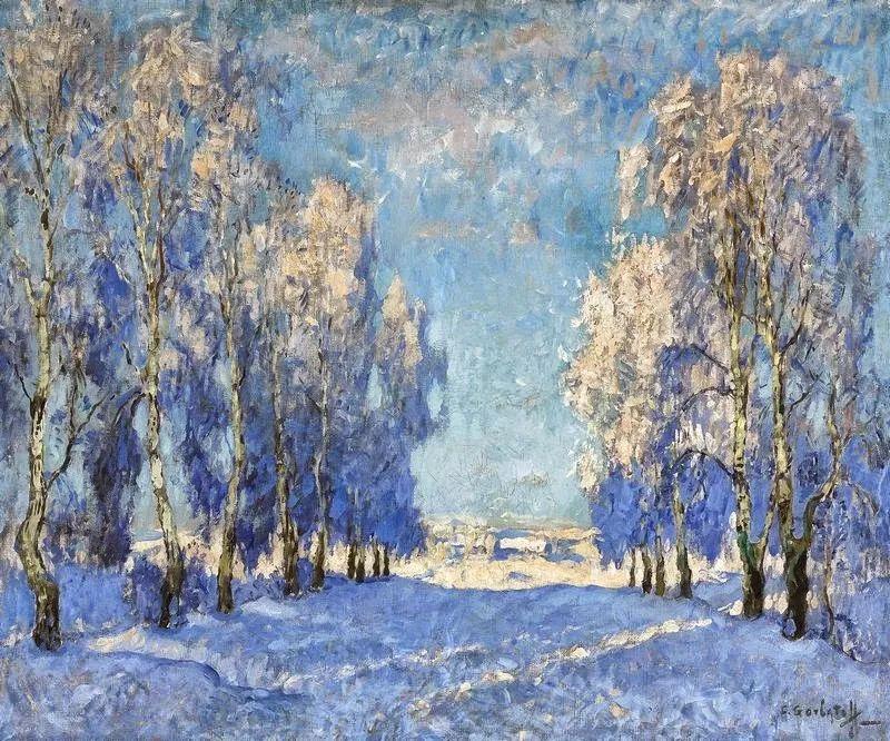 色彩斑斓的浪漫与幻想,充满诗意之美,俄罗斯艺术家戈尔巴托夫插图71