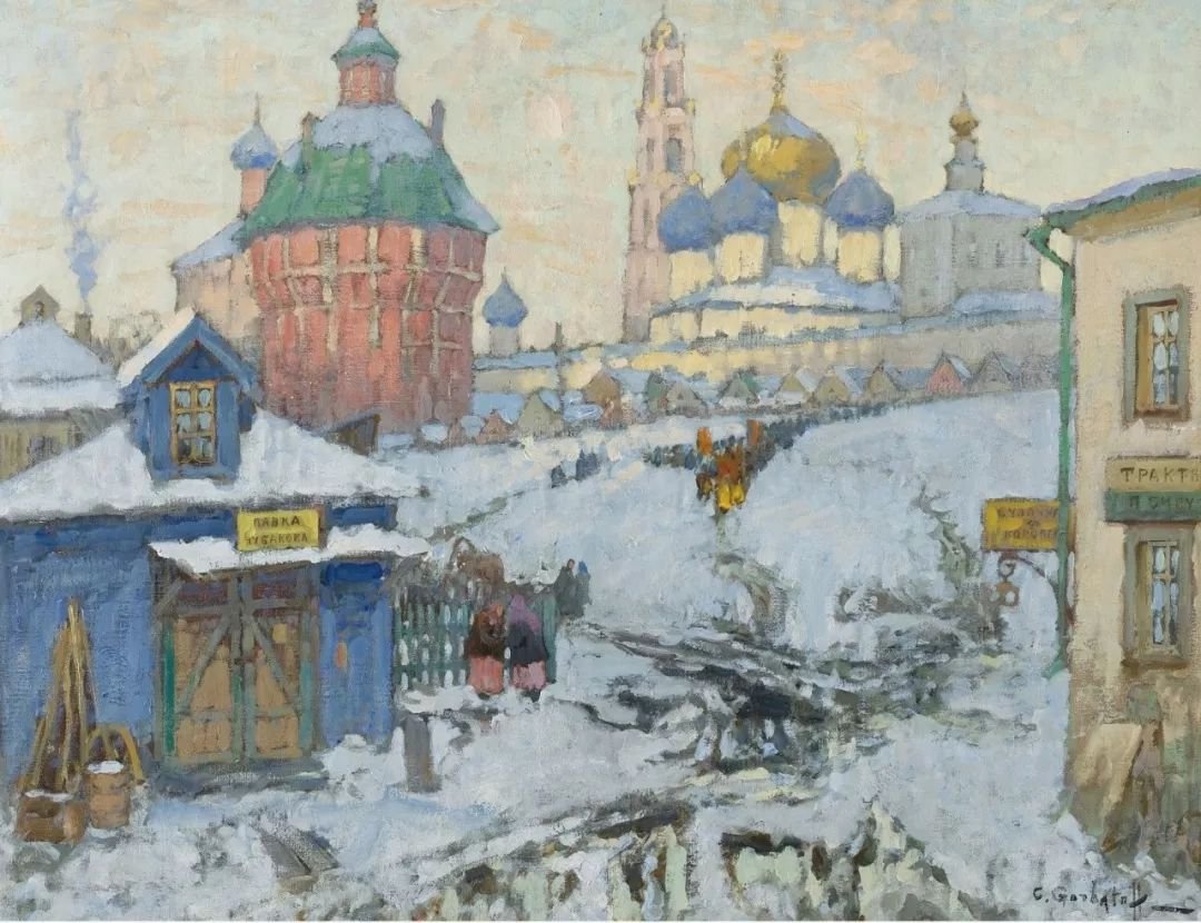 色彩斑斓的浪漫与幻想,充满诗意之美,俄罗斯艺术家戈尔巴托夫插图73