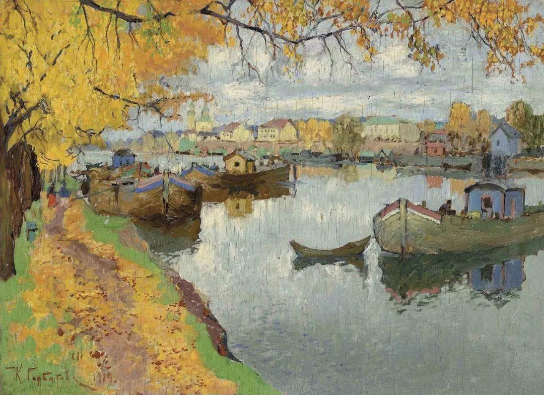 色彩斑斓的浪漫与幻想,充满诗意之美,俄罗斯艺术家戈尔巴托夫插图77