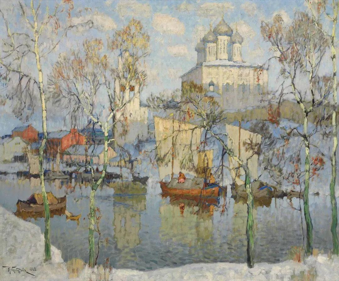 色彩斑斓的浪漫与幻想,充满诗意之美,俄罗斯艺术家戈尔巴托夫插图83