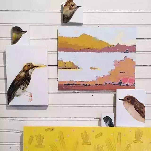 一把刮刀提炼出的大自然色彩,美国画家杰西卡·菲尔兹插图11