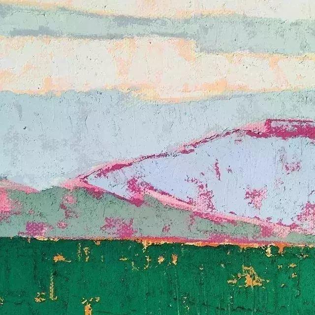 一把刮刀提炼出的大自然色彩,美国画家杰西卡·菲尔兹插图21