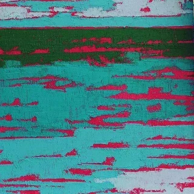 一把刮刀提炼出的大自然色彩,美国画家杰西卡·菲尔兹插图22