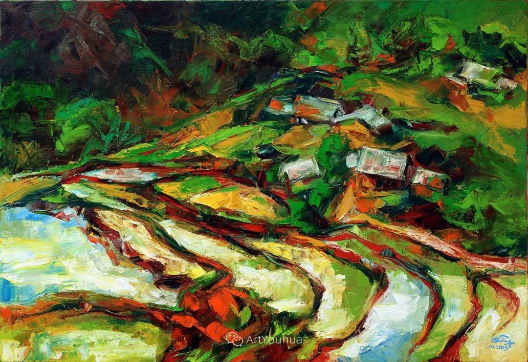 热情奔放的色彩,越南艺术家麦惠东插图3