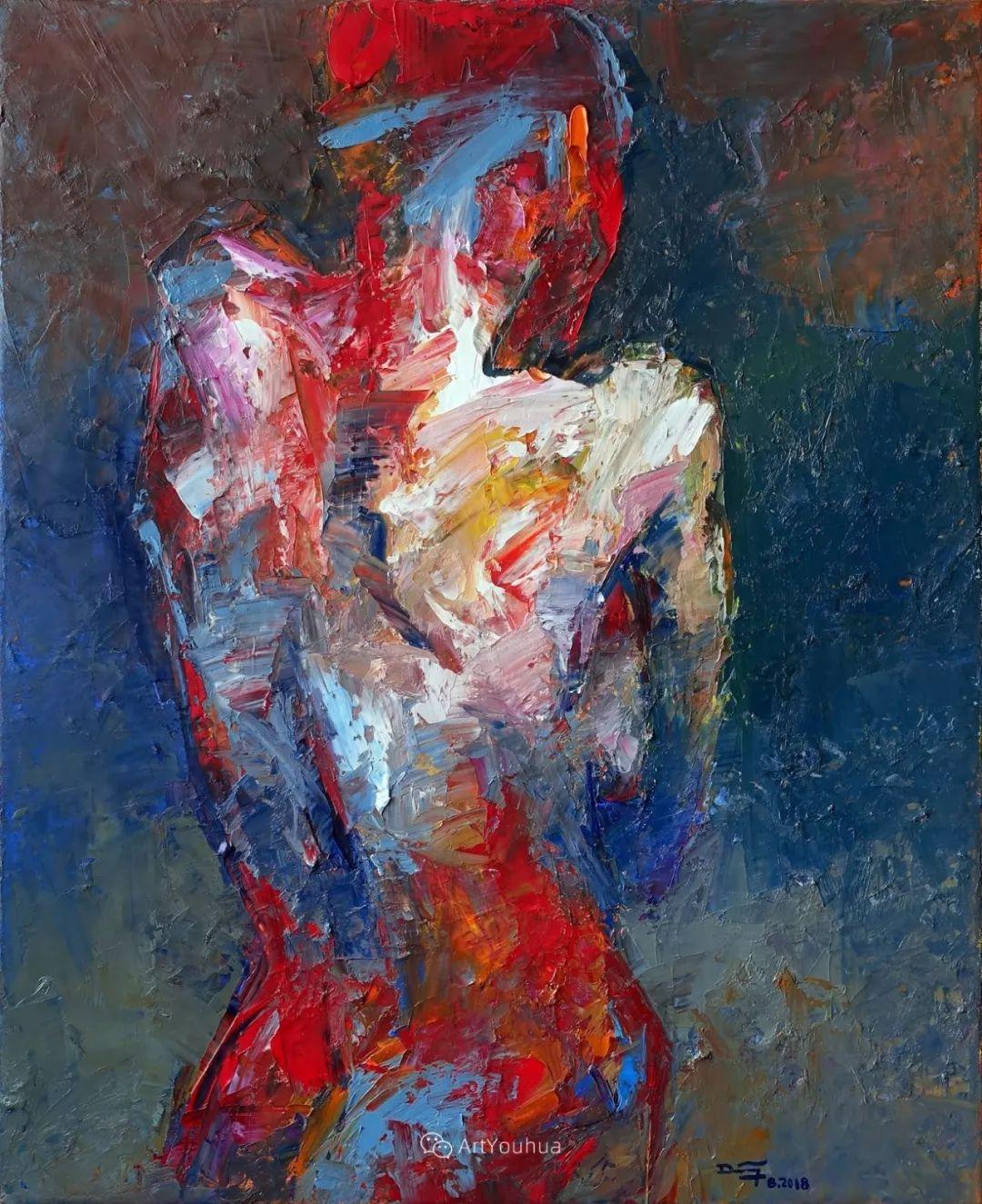 热情奔放的色彩,越南艺术家麦惠东插图8