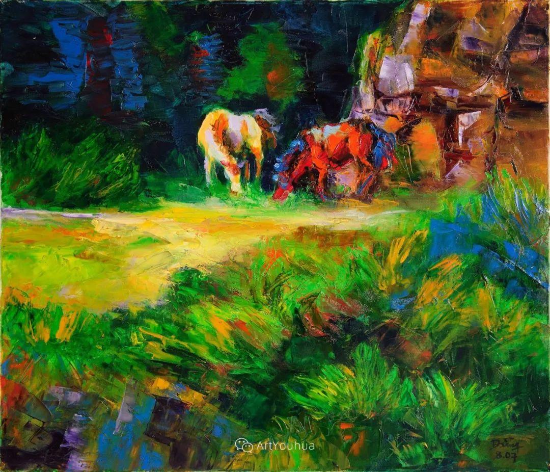 热情奔放的色彩,越南艺术家麦惠东插图12