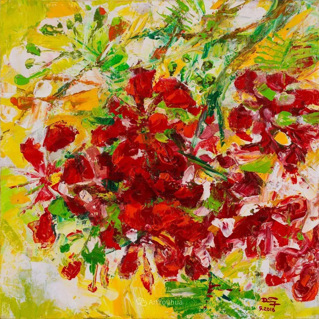 热情奔放的色彩,越南艺术家麦惠东插图24