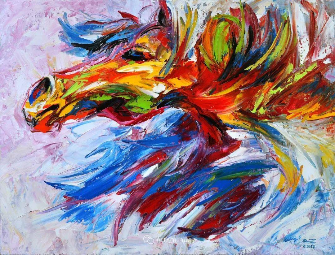 热情奔放的色彩,越南艺术家麦惠东插图27