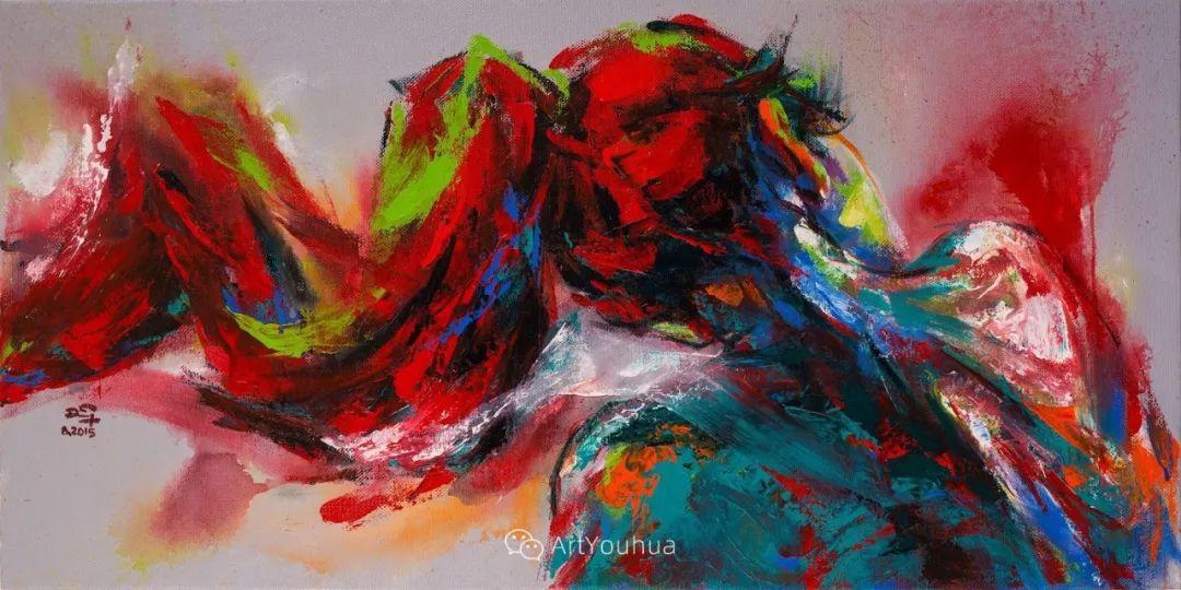 热情奔放的色彩,越南艺术家麦惠东插图30