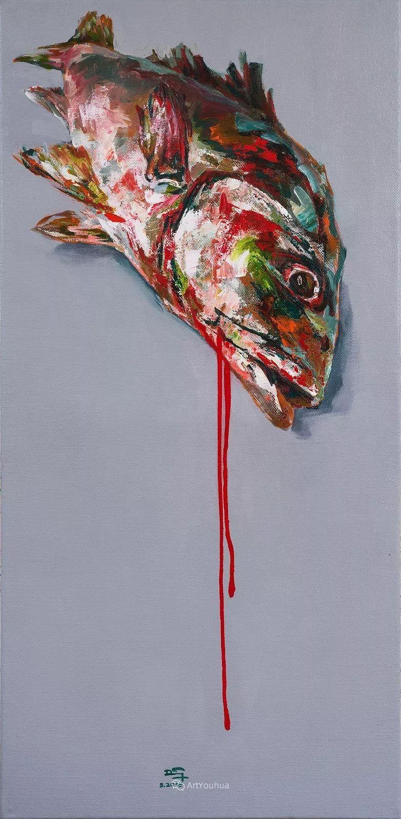 热情奔放的色彩,越南艺术家麦惠东插图31