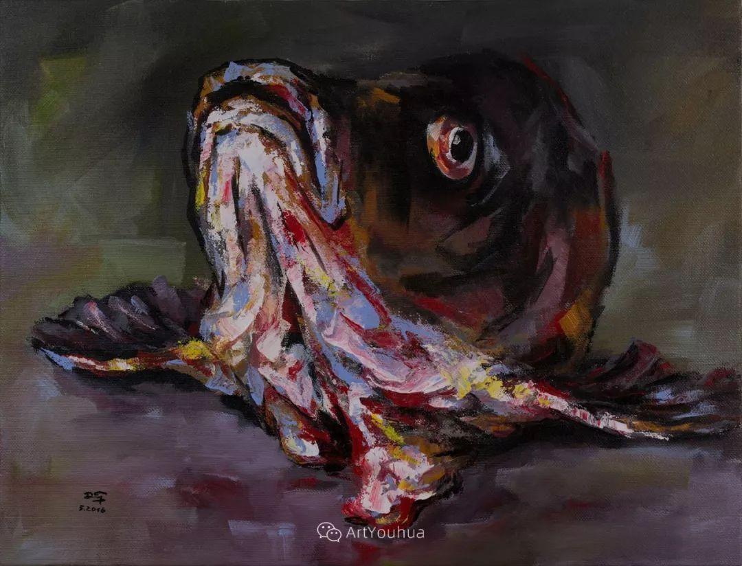 热情奔放的色彩,越南艺术家麦惠东插图32