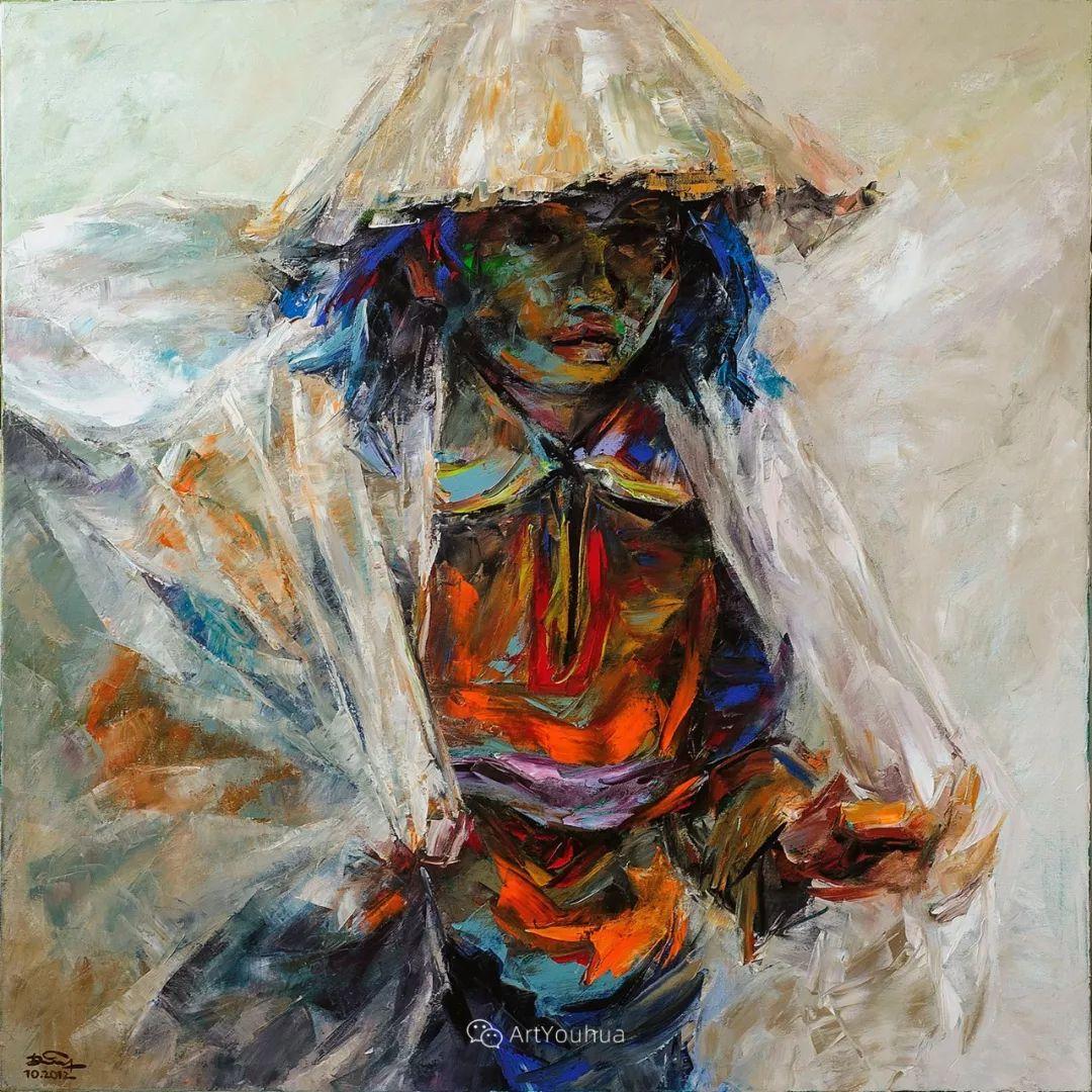 热情奔放的色彩,越南艺术家麦惠东插图35