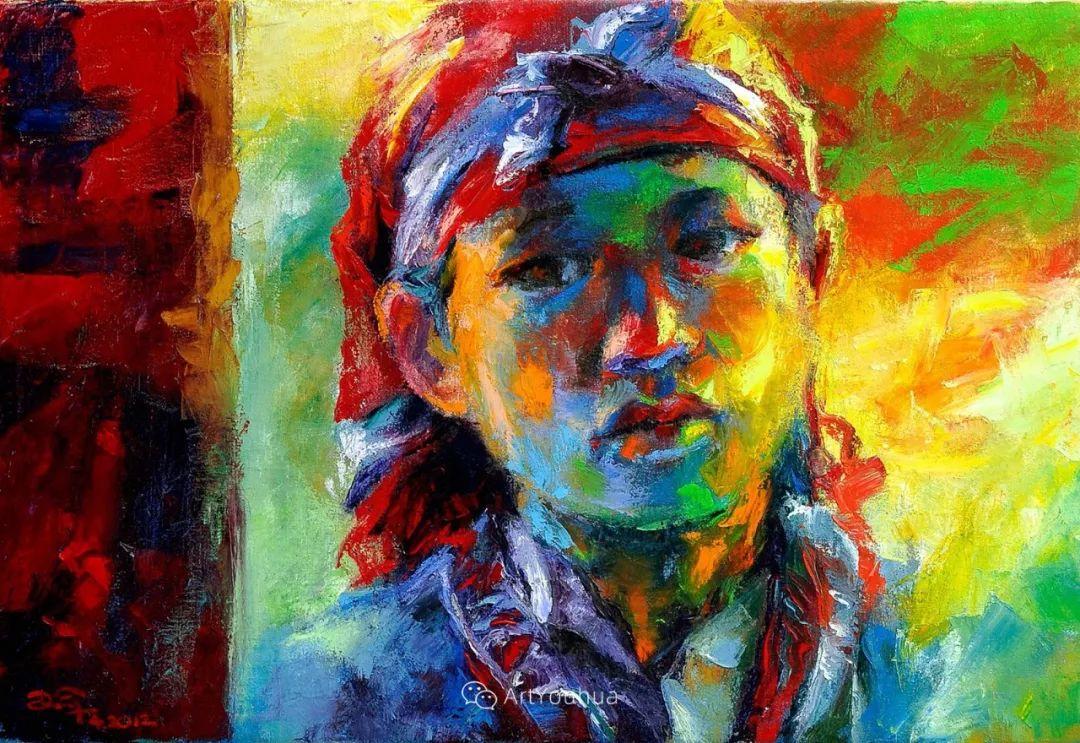 热情奔放的色彩,越南艺术家麦惠东插图36