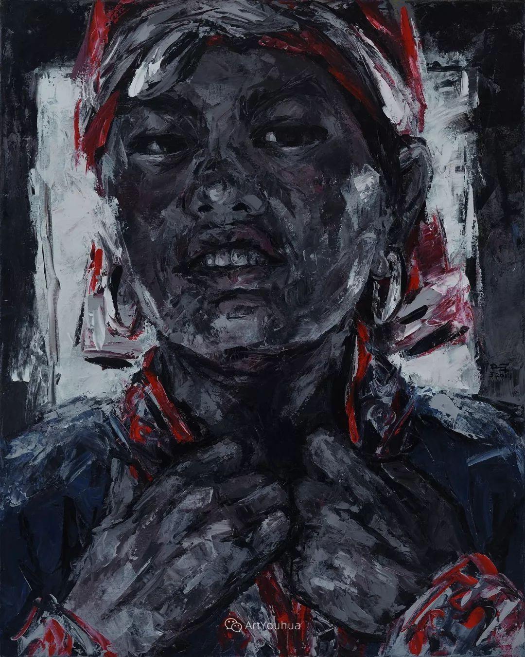 热情奔放的色彩,越南艺术家麦惠东插图37