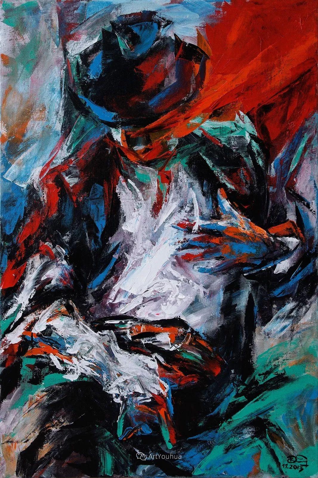 热情奔放的色彩,越南艺术家麦惠东插图38
