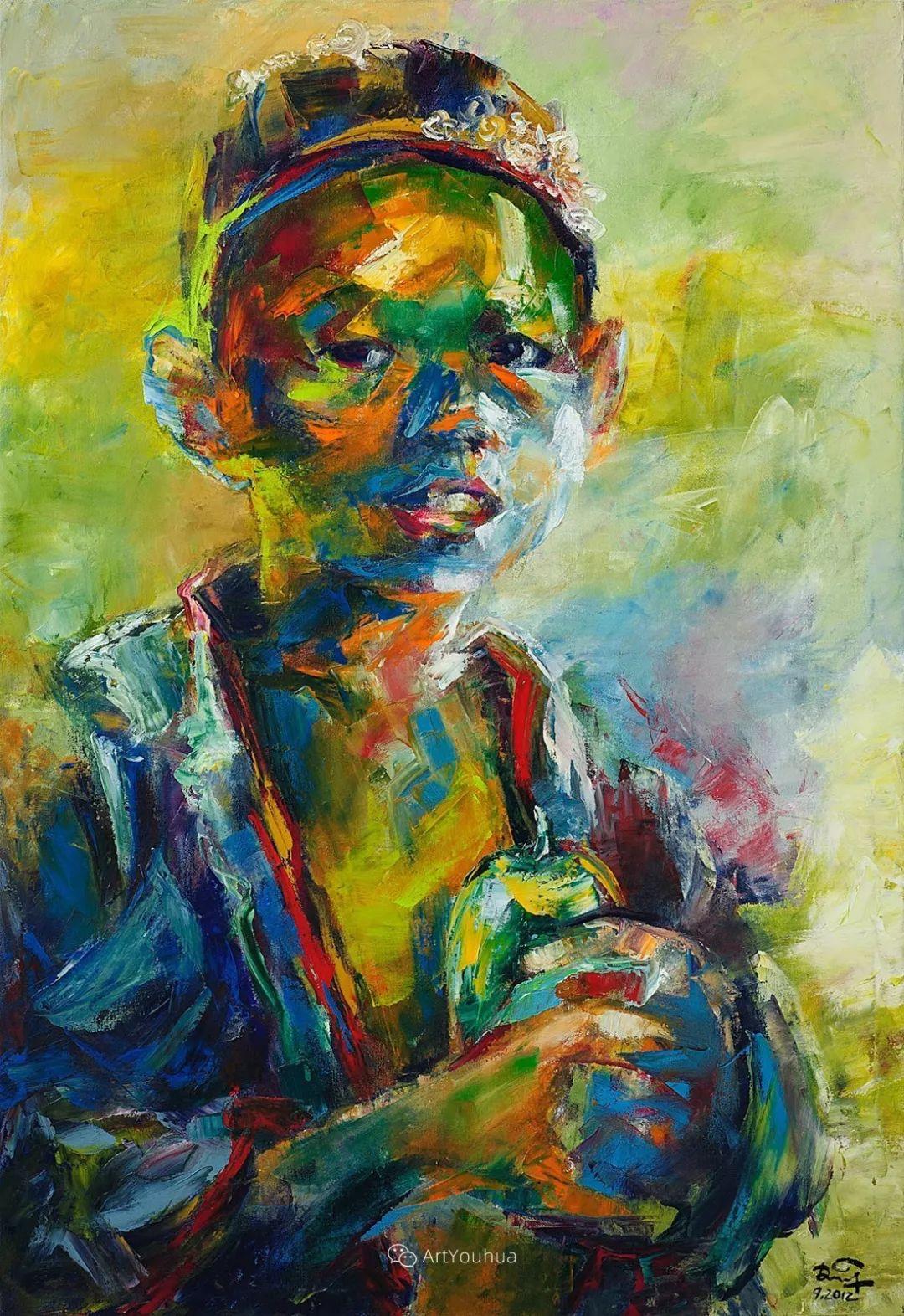 热情奔放的色彩,越南艺术家麦惠东插图42