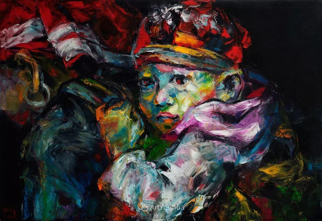 热情奔放的色彩,越南艺术家麦惠东插图43