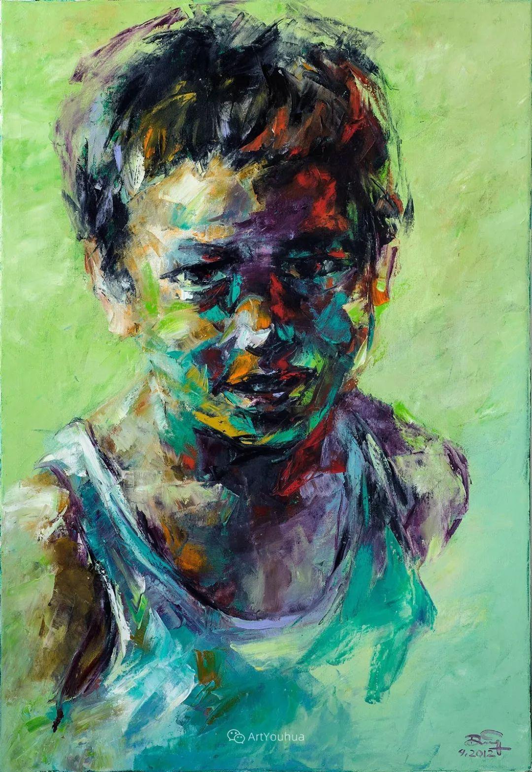 热情奔放的色彩,越南艺术家麦惠东插图44