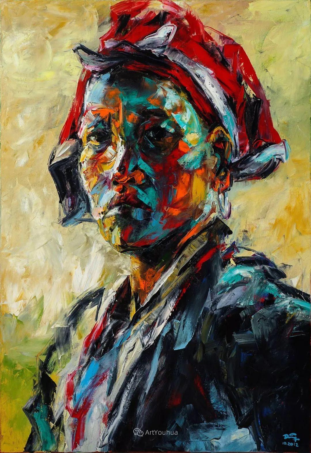 热情奔放的色彩,越南艺术家麦惠东插图47