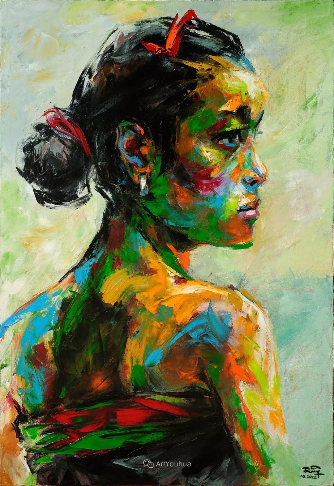 热情奔放的色彩,越南艺术家麦惠东插图48
