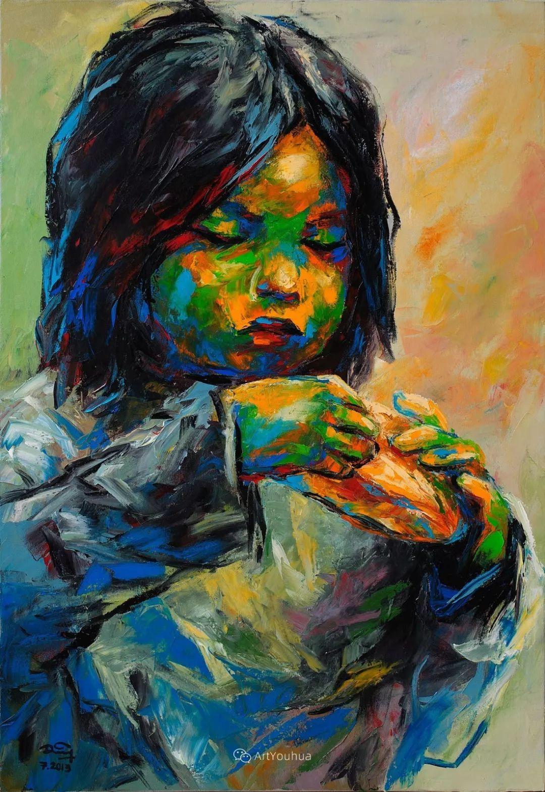 热情奔放的色彩,越南艺术家麦惠东插图49