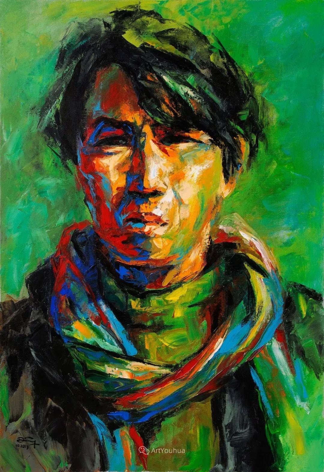 热情奔放的色彩,越南艺术家麦惠东插图50